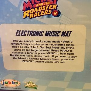 disney junior Toys - Mickey and the roadster racers music mat